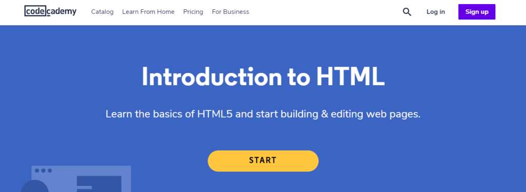 Free HTML Course